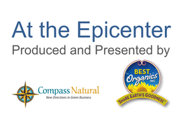 At the Epicenter with Michael Shuman