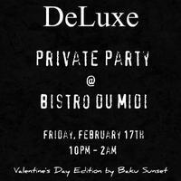 Deluxe Private Party - Valentine's Day Edition