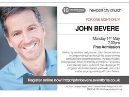 FOR ONE NIGHT ONLY - John Bevere