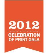 2012 Celebration of Print Gala