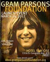 Gram Parsons Foundation Launch Event