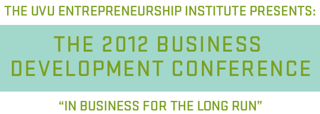 THE 2012 BUSINESS DEVELOPMENT CONFERENCE