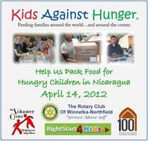 Kids Against Hunger Food Packing Event.      Help us...