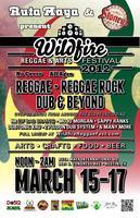 3RD ANNUAL WILDFIRE REGGAE & ARTS FESTIVAL