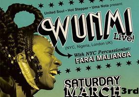 Wunmi Live w/ Jason Palma, Groove Inst., General...