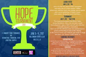 SAVE THE DATE! HOPE Tournament 2012