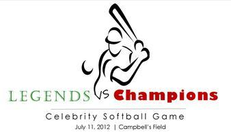 Legends vs Champions Celebrity Softball Game