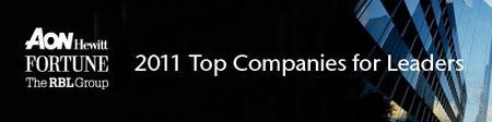 The Top Companies for Developing Leaders:  Findings...