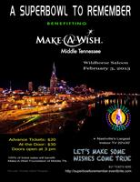 """A SUPER BOWL TO REMEMBER"" For Make-A-Wish Foundation..."