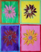 Warhol's Wall Flowers - Senor Tequila Brookside 3-12-12
