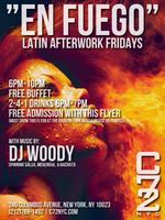 "Friday 04/05/13 - ""En Fuego"" Latin Afterwork Fridays, Free..."