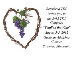2012 TEC Congress  and TAP (St. Peter, MN)