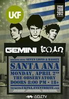 UKF Tour • Gemini & KOAN Sound • Santa Ana