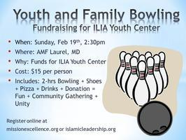 Bowling Fundraiser for ILIA's Youth Center