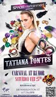 Carnival Party With DJ Tatiana Fontes @Rumor