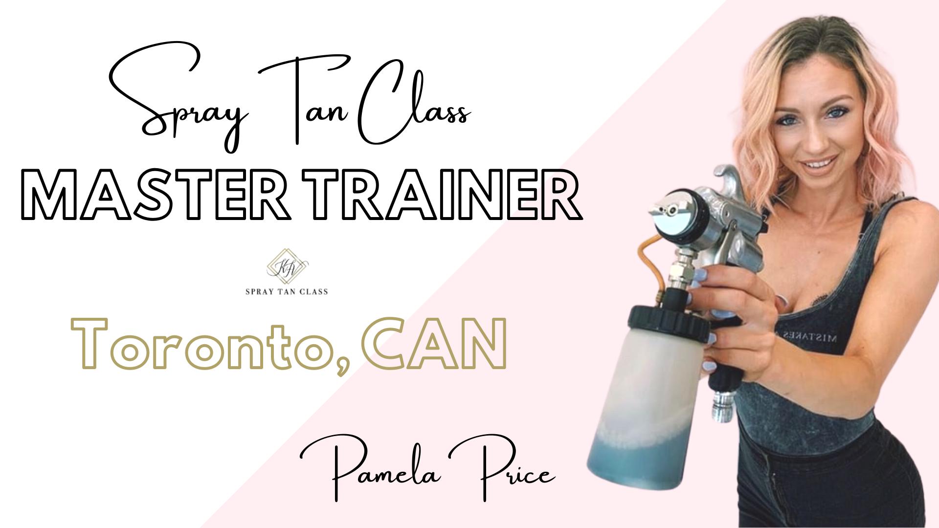 Spray Tan Training | Slay the Spray Sunless Tour Toronto, CAN