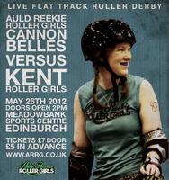 ARRG Cannon Belles vs Kent Roller Girls