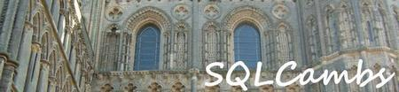 SQLCambs User Group Event #3