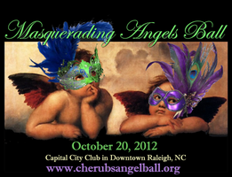 2012 Raleigh Halloween Masquerading Angels Charity Ball