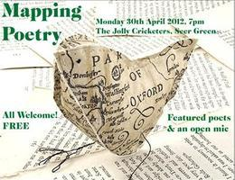 Mapping Poetry: Poetry Reading and Open Mic