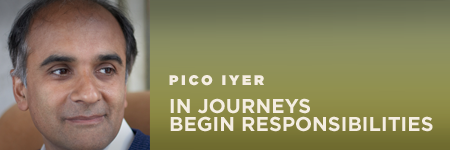 Inaugural H. Peter Stern Lecture featuring Pico Iyer