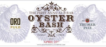 B Bar Oyster Bash