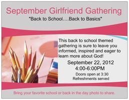 The Girlfriend Gathering