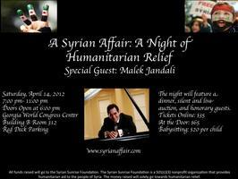 A Syrian Affair: A Night of Humanitarian Relief