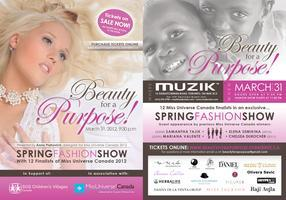 Beauty for a Purpose! Spring Fashion Show