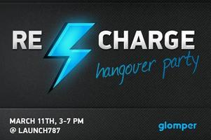 Glomper Recharge hangover party @Launch787