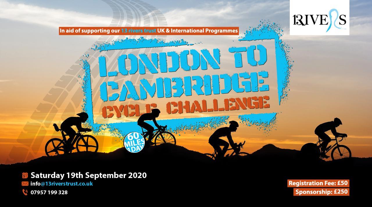 London to Cambridge Cycle Challenge 2020