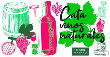 Cata de vinos naturales en una terrazza privada con vis...