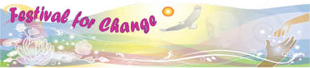 Festival for Change Lodging & Meals.  Also available...