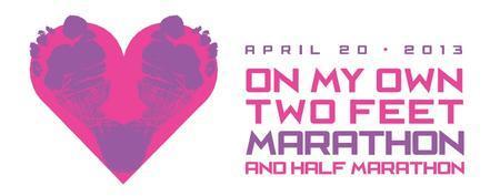 On My Own Two Feet Marathon and Half Marathon