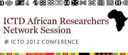 ICTD African Researchers Network