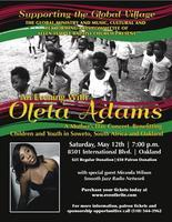 Supporting The Global Village - An Evening With Oleta...