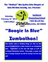 BOOGIE IN BLUE - ZUMBATHON