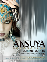 ANSUYA EVENING SHOW  and WORKSHOPS Special weekend Event, LOS...