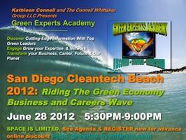 San Diego Cleantech Beach 2012: Riding The Green...