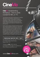 'CineMe Screenwriting Workshop.'
