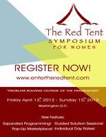 Red Tent Symposium For Women- Spring 2012