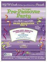 The only pre-Passover party!