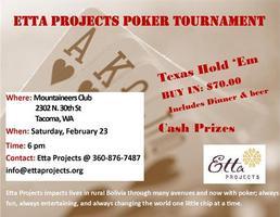 Etta Projects Poker Tournament