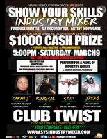 Show Your Skills Industry Mixer 03.09.13