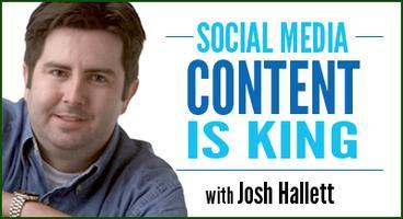 Social Media Content is King, with Josh Hallett