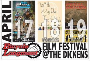 2nd annual Bicycle Film Fest presented by Bicycle Longmont