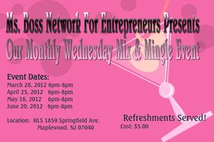 Mix & Mingle For Entrepreneurs