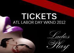 Ladies at Play's Atlanta Labor Day wknd events at Aja...