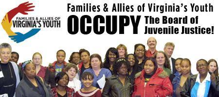 Occupy the Board of Juvenile Justice