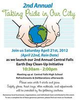 Earth Day Beautification in Central Falls